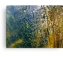Streaming bubbles Canvas Print