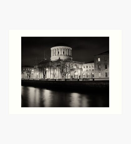 The Four Courts, Dublin Art Print