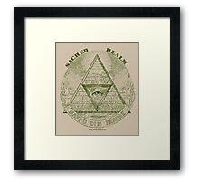 Sacred Realm Framed Print