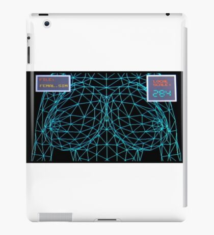 Simulated Boobs iPad Case/Skin