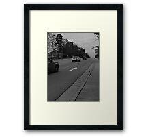 Driving Framed Print