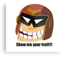 Captain Troll Metal Print