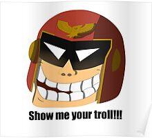 Captain Troll Poster