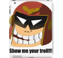 Captain Troll iPad Case/Skin