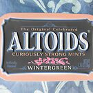 "Altoids Wintergreen featured in ""The World As We See It , or as we missed it"" by ©The Creative  Minds"