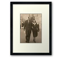 Mor og Far (Mum and Dad) Framed Print