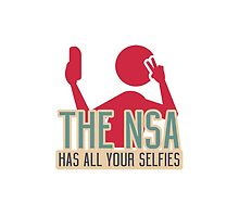 The NSA Has All Your Selfies by copyme