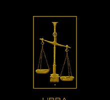 The Libra Zodiac Emblem by Vy Solomatenko