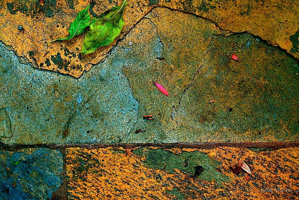 Sandstone Abstract by Julie Marks