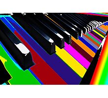 Colourful Music Photographic Print