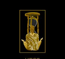 The Virgo Zodiac Emblem by Vy Solomatenko