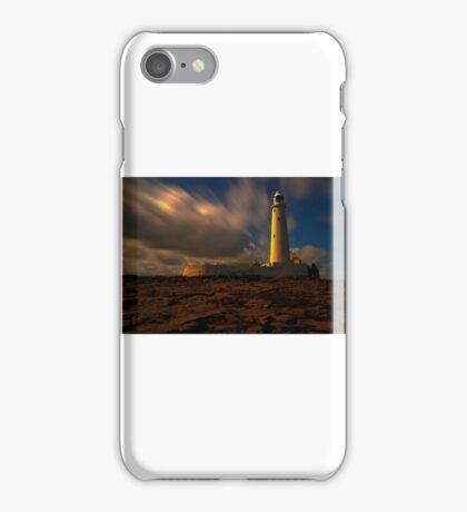 St Marys Island Lighthouse iPhone Case/Skin