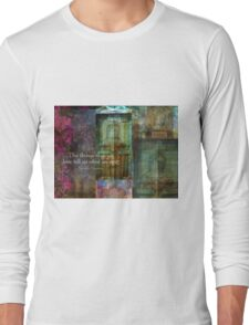 Thomas Aquinas Quote about FRIENDSHIP Long Sleeve T-Shirt