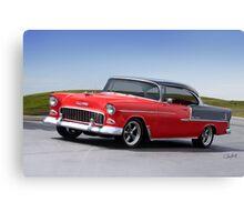 1955 Chevrolet Bel Air 'Two Door Hardtop' Canvas Print