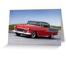 1955 Chevrolet Bel Air 'Two Door Hardtop' Greeting Card