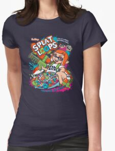 Splat Loops Womens Fitted T-Shirt