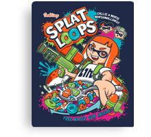Splat Loops Canvas Print