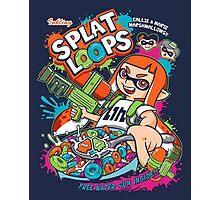 Splat Loops Photographic Print