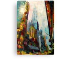 Chrysler building,New york Skyline Canvas Print
