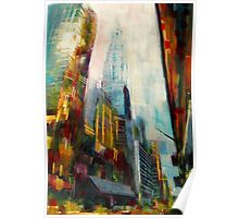 Chrysler building,New york Skyline Poster