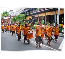 Balinese cremation ceremony 2 Poster