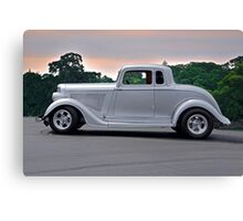 1934 Plymouth 'Casper' Coupe  Canvas Print
