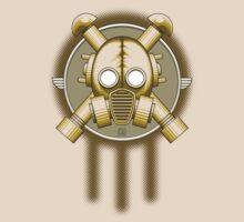 Art Deco Gasmask Trinity by Rustyoldtown