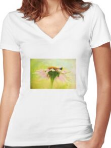 In Perfect Harmony Women's Fitted V-Neck T-Shirt
