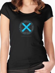 Xavier's School for Gifted Youngsters Women's Fitted Scoop T-Shirt