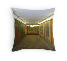 Underground  Arts Throw Pillow