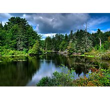 Maine - Lake  Photographic Print