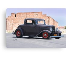 1932 Ford 'The Duece' Coupe Canvas Print