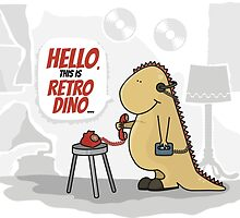 Hello, this is retro Dino by Fuchs-und-Spatz