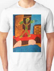 Monster in the room Unisex T-Shirt