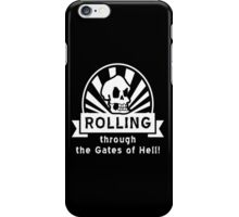 ROLLING through the Gates of Hell! (Murray - Monkey Island) iPhone Case/Skin