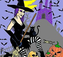 Michele, the friendly witch by Kevin Goss