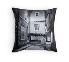 Butchers to history Throw Pillow