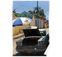 Air con, Cuba style, Trinidad, Cuba Poster