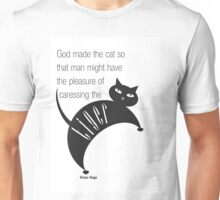 The Well-Read cat - 2 Unisex T-Shirt