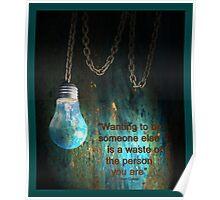 Grunge Lighting Poster