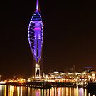 Harbour Lights, Portsmouth by Jane Burridge