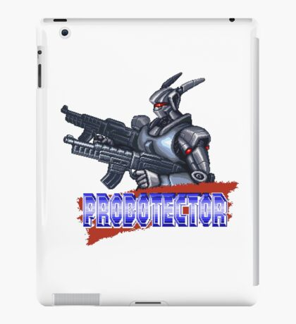 Probotector - SNES Title Screen iPad Case/Skin