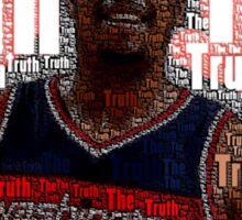 Paul Pierce Word Art Sticker