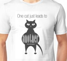 The Well-Read cat - 4 Unisex T-Shirt