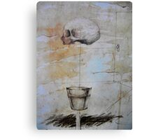 finding absurd analogies  Canvas Print