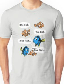 One Fish, Blue Fish T-Shirt