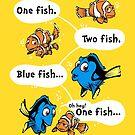One Fish, Blue Fish by Nathan Davis