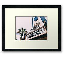 DCA's Buena Vista Street  Framed Print