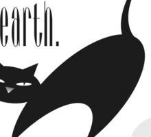 The Well-Read cat - 6 Sticker