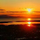 """Morning Fire- Qualicum Bay, British Columbia, Canada"" by Bruce Jones"